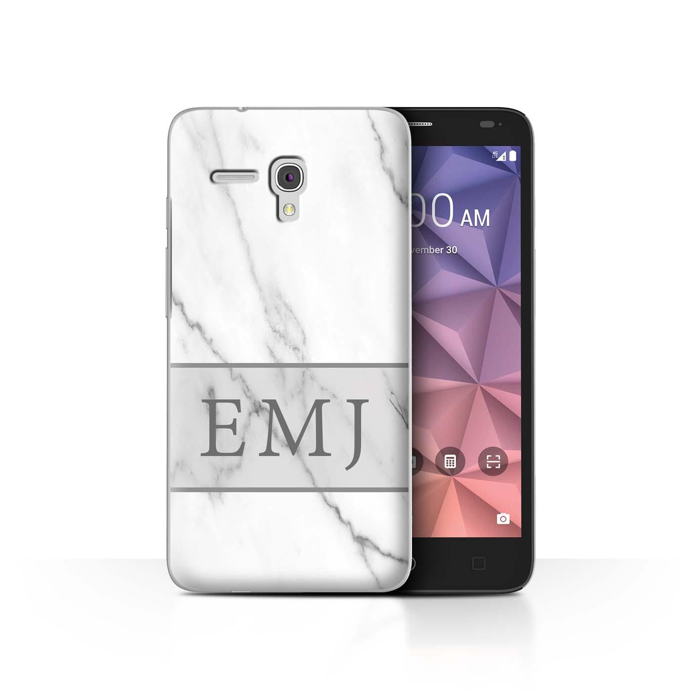 Personalizado-a-medida-marmol-Granito-fundas-para-telefono-PROTECTOR-Alcatel