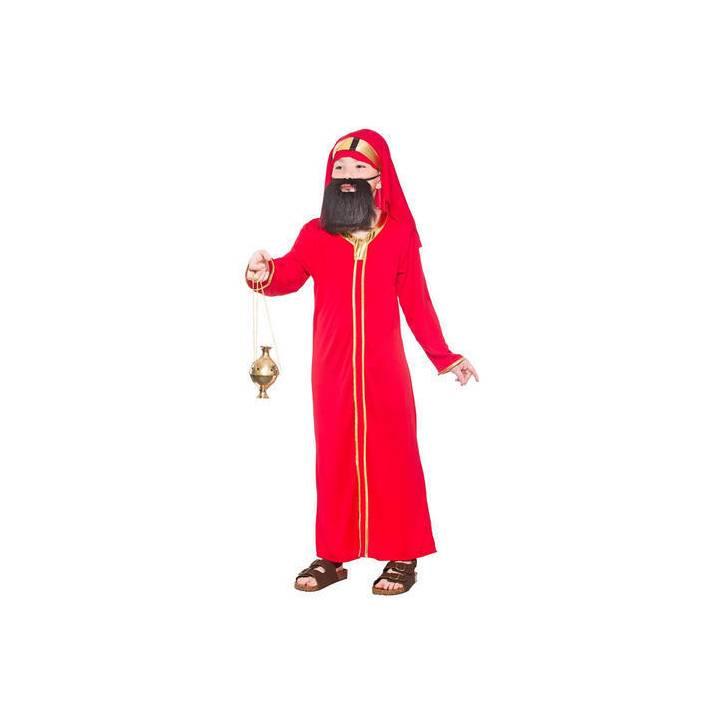 Mago-hombre-rojo-Baltasar-obra-de-Navidad-Hombre-Disfraz-Navidad-Disfraz-nino