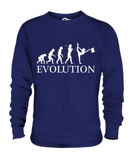 Umana Evoluzione Svolazzante Donna Uomo Unisex Maglione Bandiera Regalo Idea wCSxadn5q