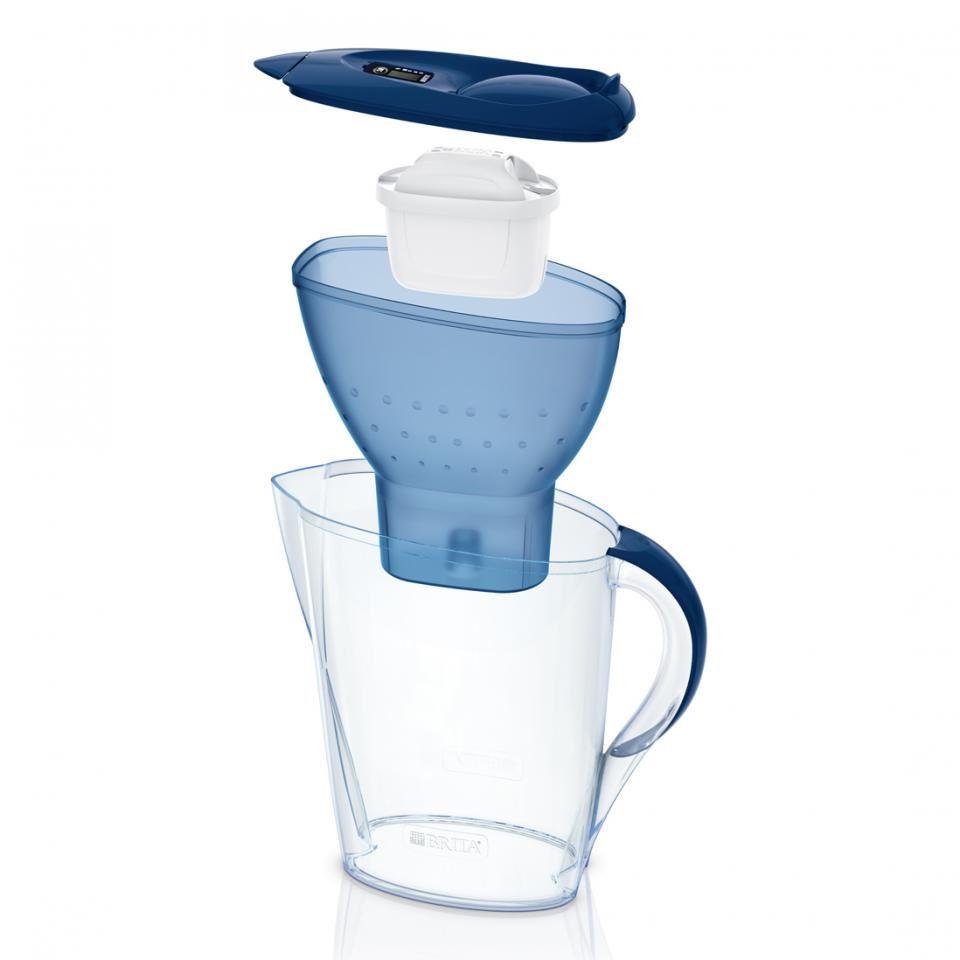 brita marella cool maxtra 2 4l filtre eau carafe de r frig rateur ebay. Black Bedroom Furniture Sets. Home Design Ideas