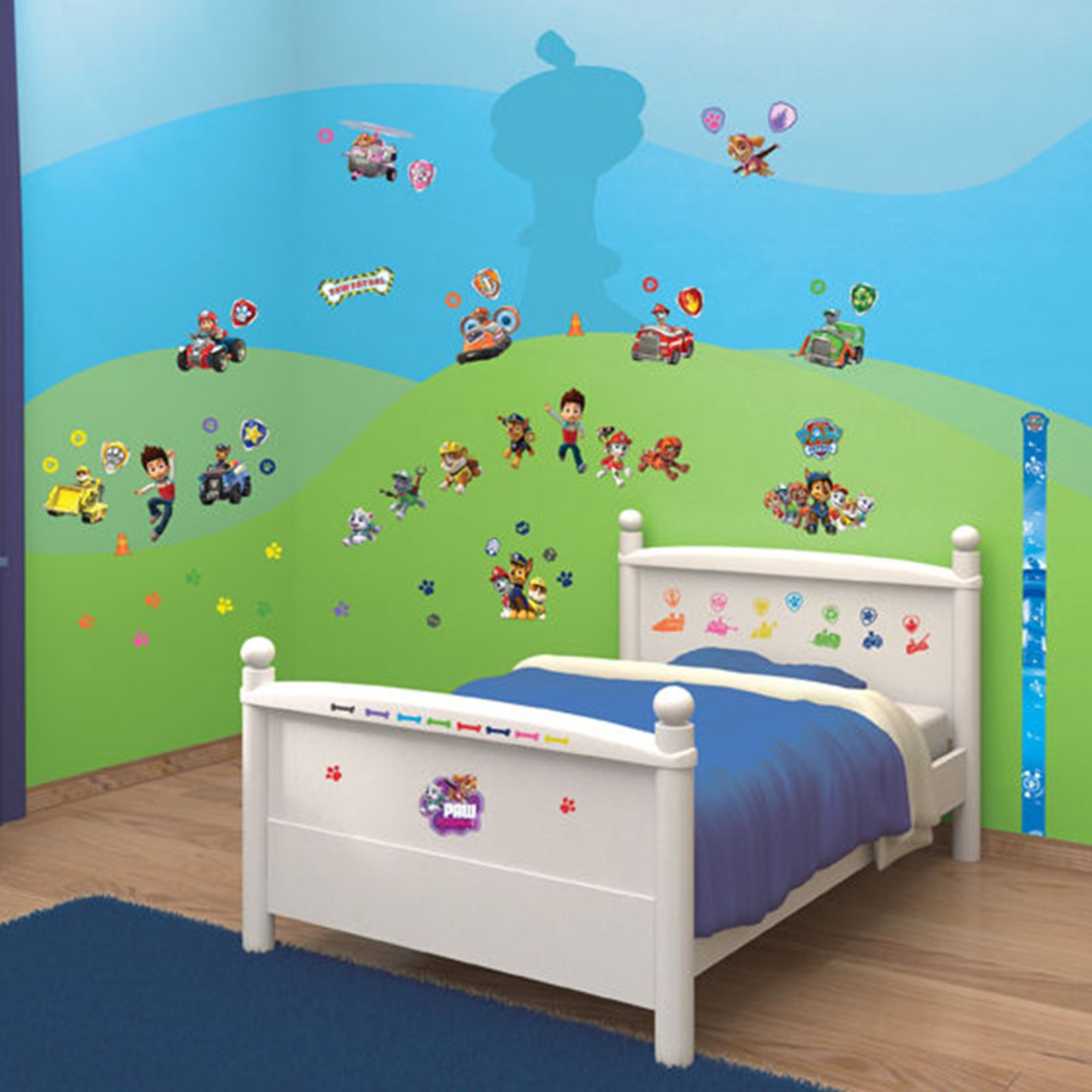 Walltastic autocollant mural ensembles chambre d 39 enfant au for Decor chambre enfant