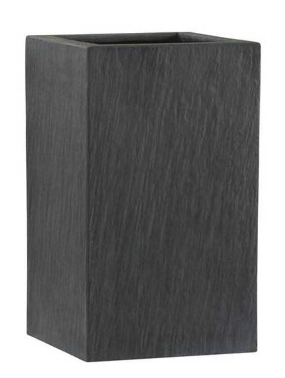 Esteras - Planter Natural Elite Wexford Graphite Flower Pot Pillar ...