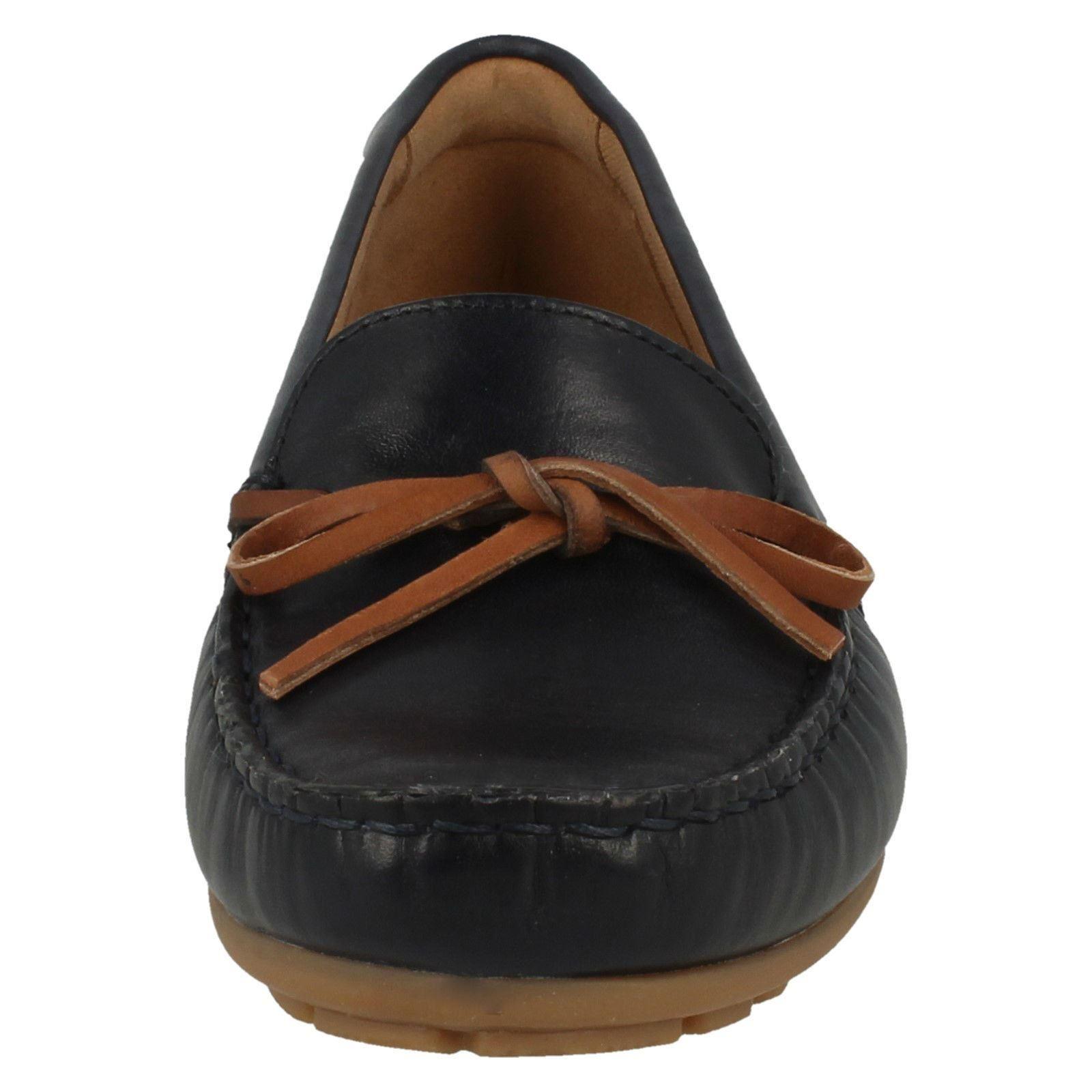 Mujer Estilo Dameo Clarks Swing Zapatos Mocasín PfFZT