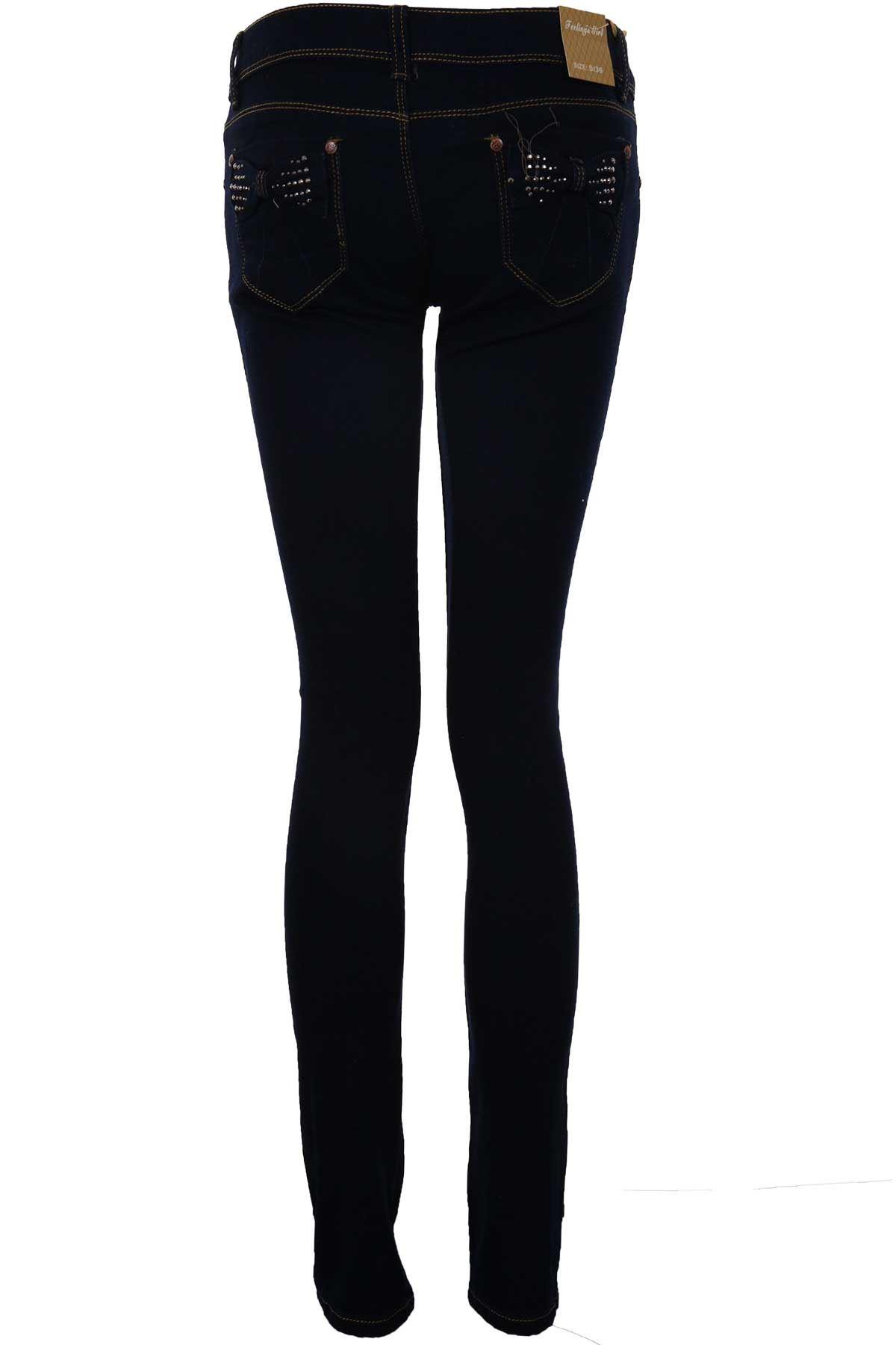 damen dunkel jeans hell acid wash damen hoher bund zerrissen hautenge jeans ebay. Black Bedroom Furniture Sets. Home Design Ideas