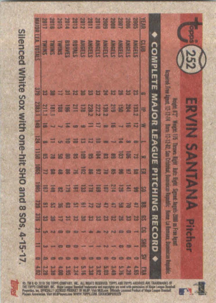 2018-Topps-Archives-Baseball-Carte-Choisissez-251-320 miniature 5
