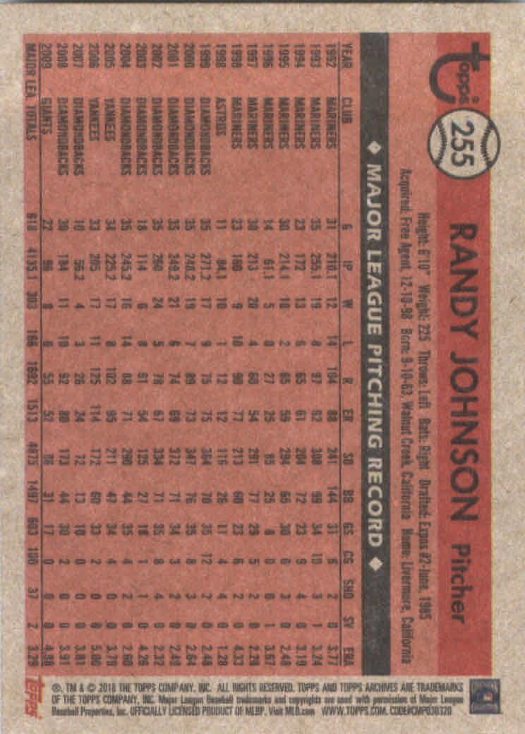 2018-Topps-Archives-Baseball-Carte-Choisissez-251-320 miniature 11
