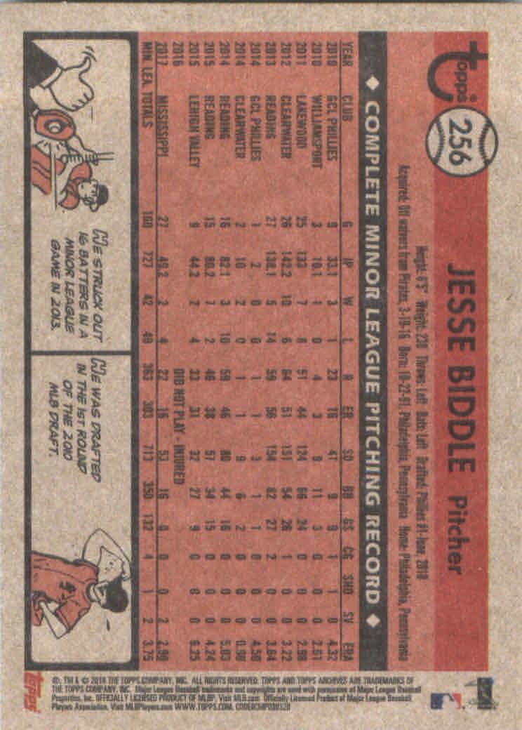 2018-Topps-Archives-Baseball-Carte-Choisissez-251-320 miniature 13