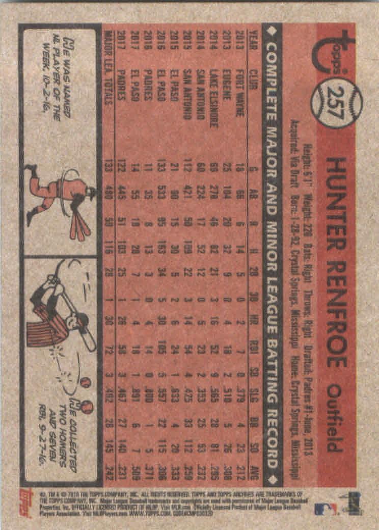2018-Topps-Archives-Baseball-Carte-Choisissez-251-320 miniature 15