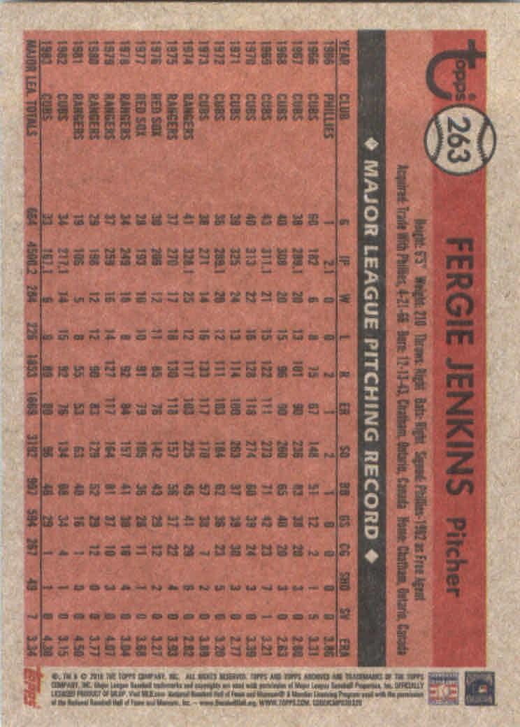 2018-Topps-Archives-Baseball-Carte-Choisissez-251-320 miniature 27