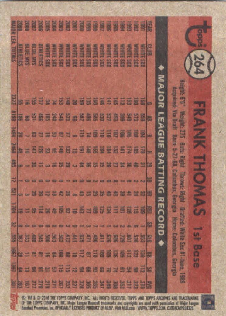 2018-Topps-Archives-Baseball-Carte-Choisissez-251-320 miniature 29