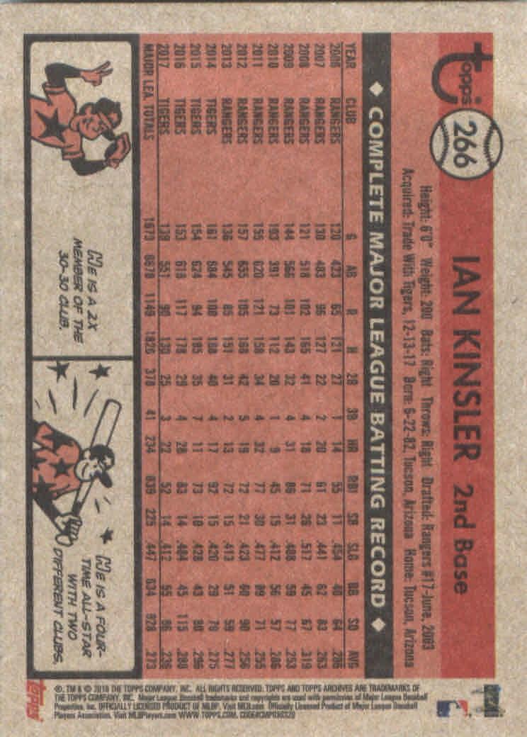 2018-Topps-Archives-Baseball-Carte-Choisissez-251-320 miniature 33