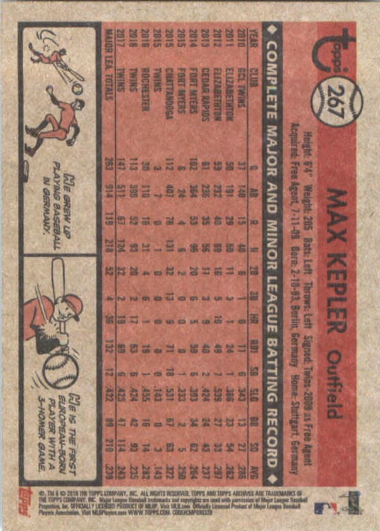 2018-Topps-Archives-Baseball-Carte-Choisissez-251-320 miniature 35