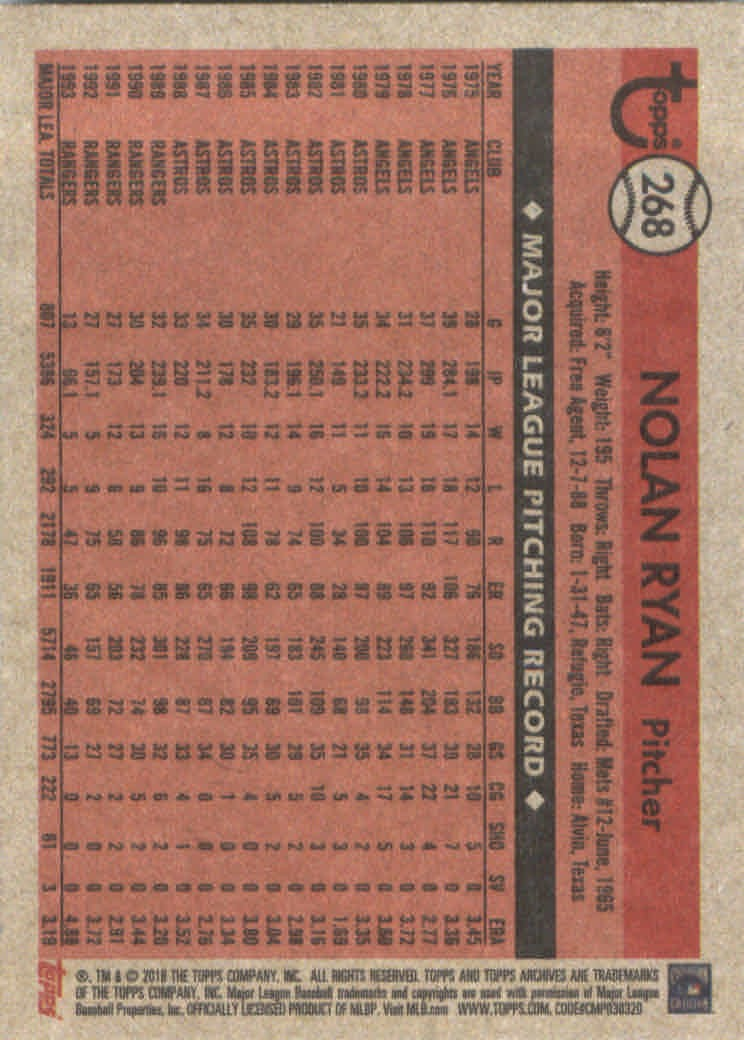 2018-Topps-Archives-Baseball-Carte-Choisissez-251-320 miniature 37