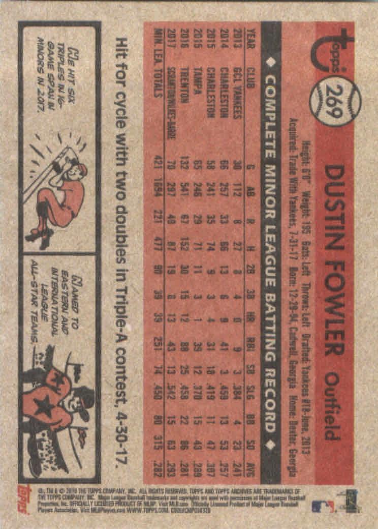 2018-Topps-Archives-Baseball-Carte-Choisissez-251-320 miniature 39