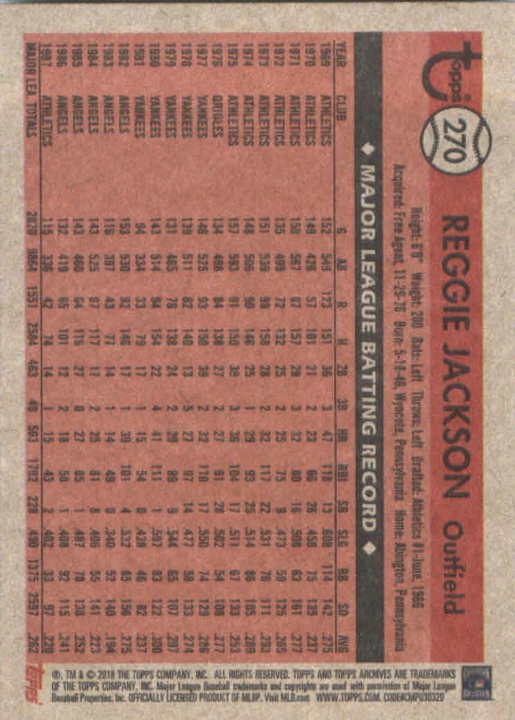 2018-Topps-Archives-Baseball-Carte-Choisissez-251-320 miniature 41