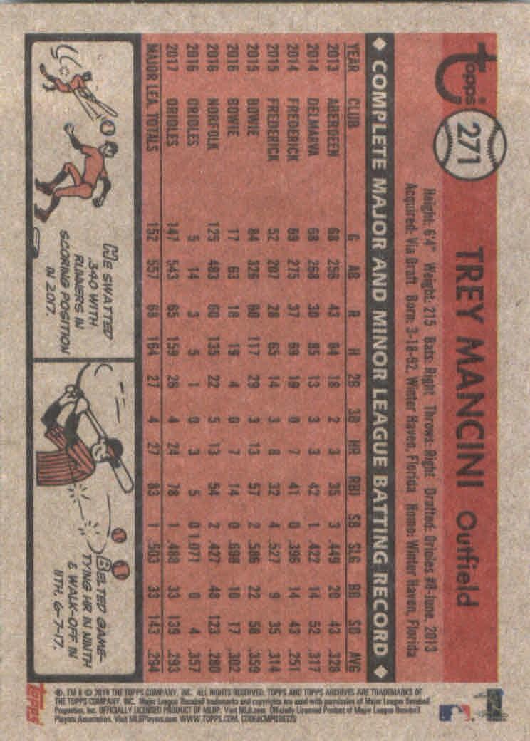 2018-Topps-Archives-Baseball-Carte-Choisissez-251-320 miniature 43