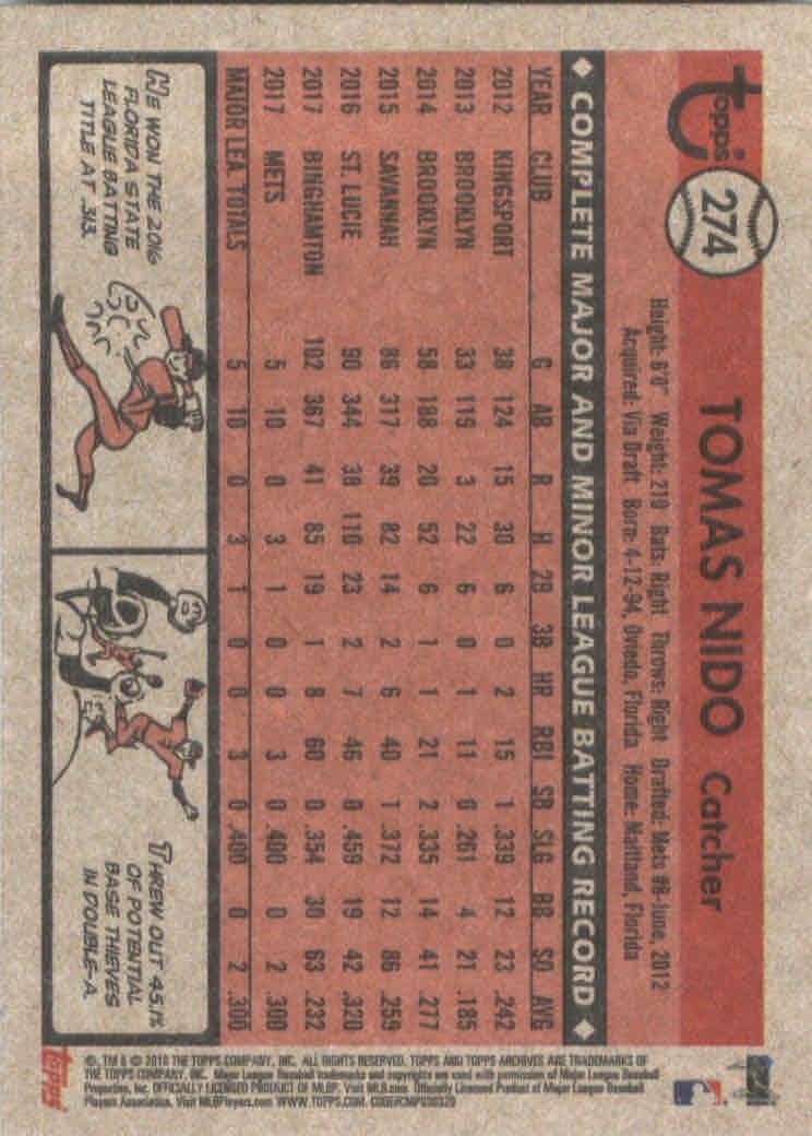 2018-Topps-Archives-Baseball-Carte-Choisissez-251-320 miniature 49