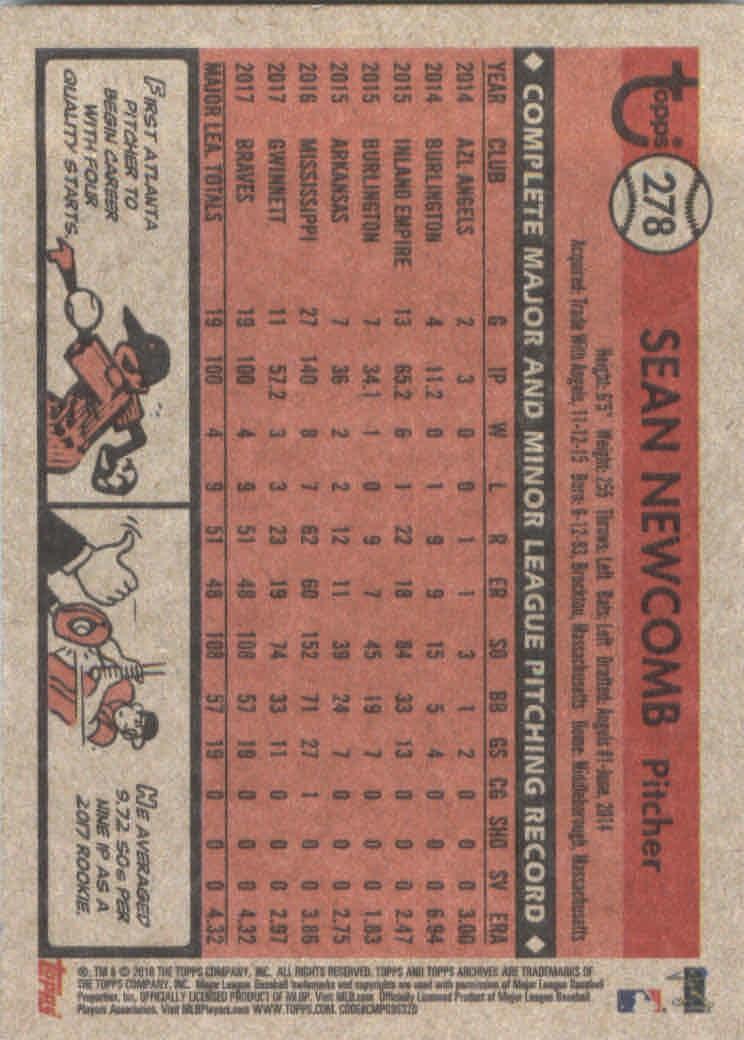 2018-Topps-Archives-Baseball-Carte-Choisissez-251-320 miniature 57
