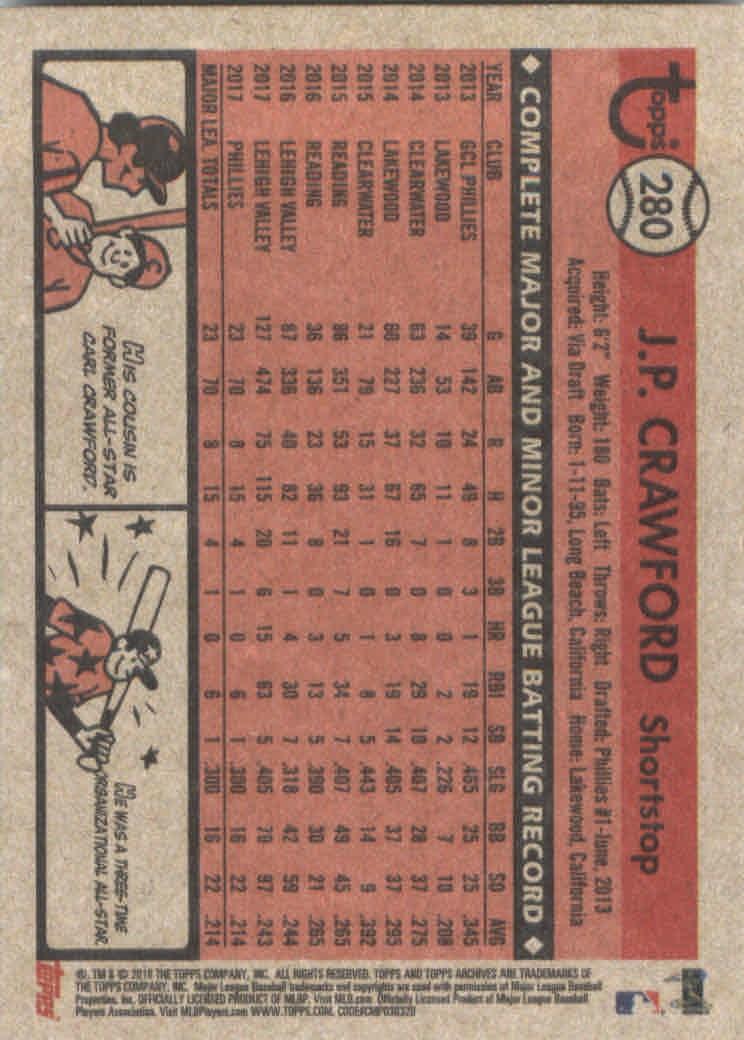 2018-Topps-Archives-Baseball-Carte-Choisissez-251-320 miniature 61