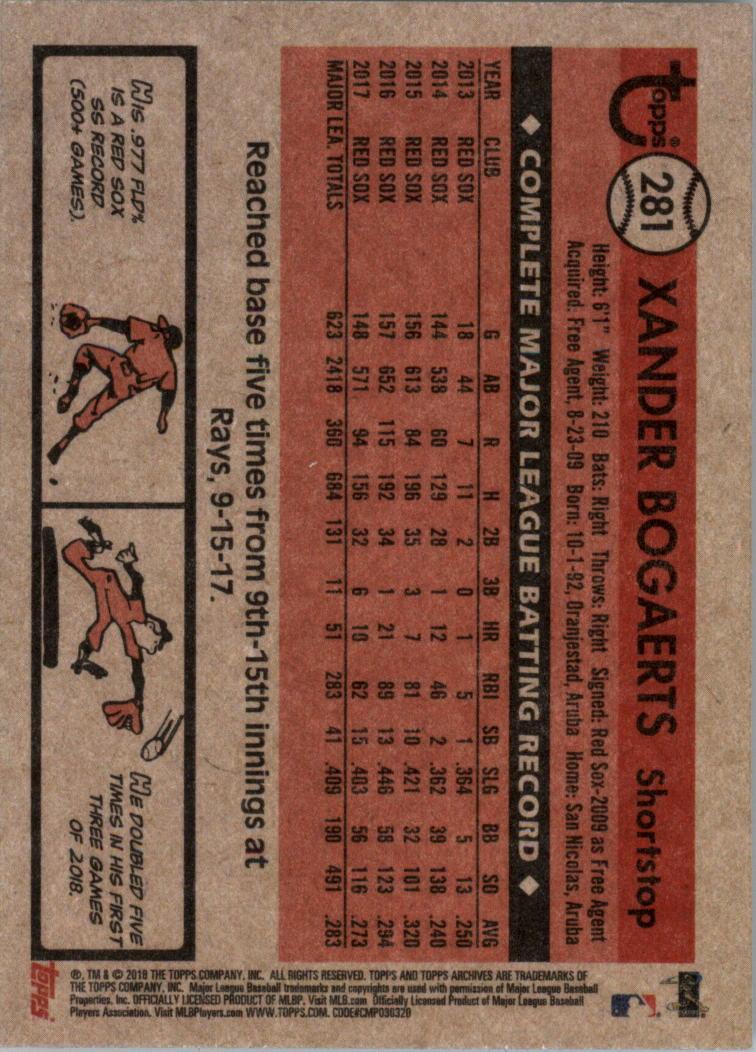 2018-Topps-Archives-Baseball-Carte-Choisissez-251-320 miniature 63