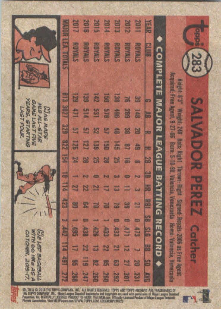 2018-Topps-Archives-Baseball-Carte-Choisissez-251-320 miniature 65