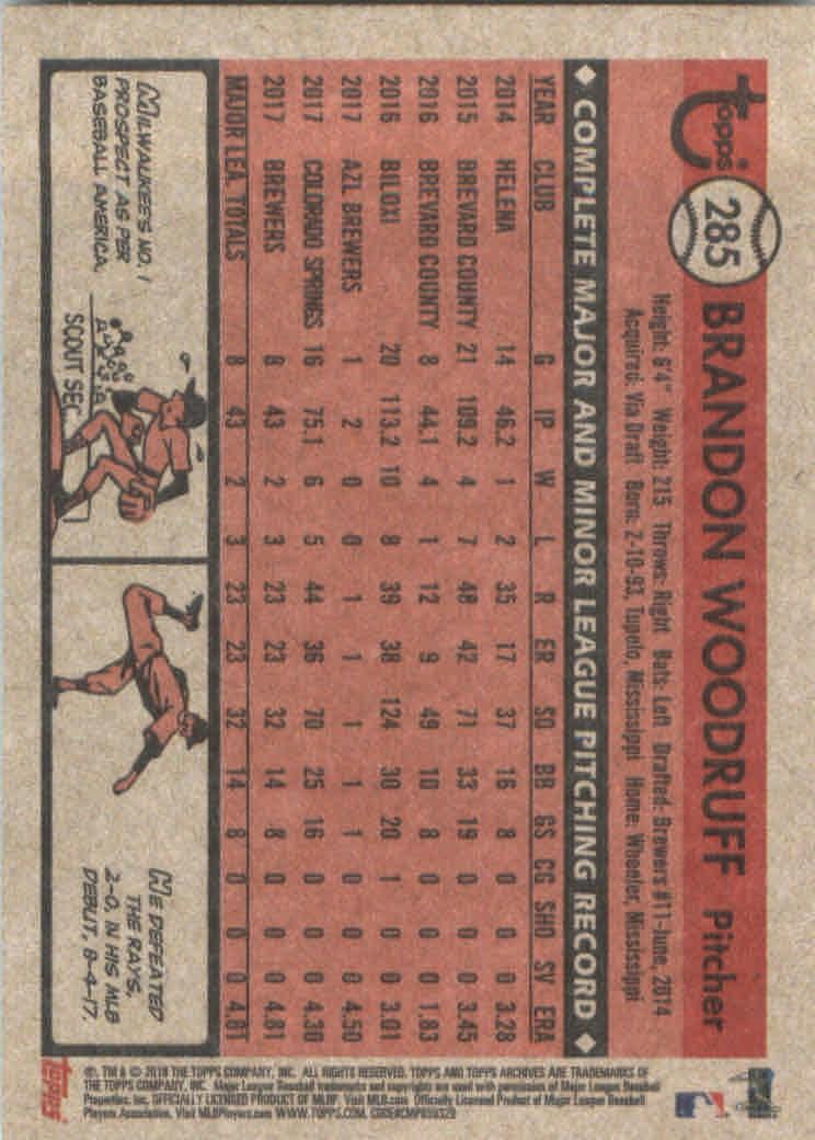 2018-Topps-Archives-Baseball-Carte-Choisissez-251-320 miniature 69