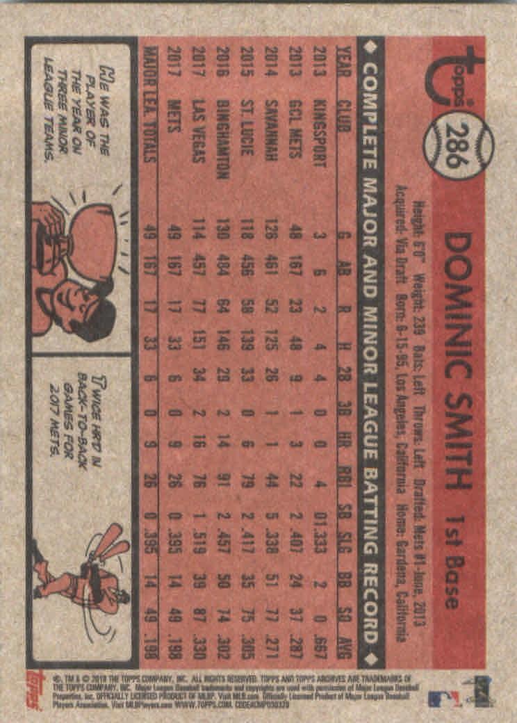 2018-Topps-Archives-Baseball-Carte-Choisissez-251-320 miniature 71