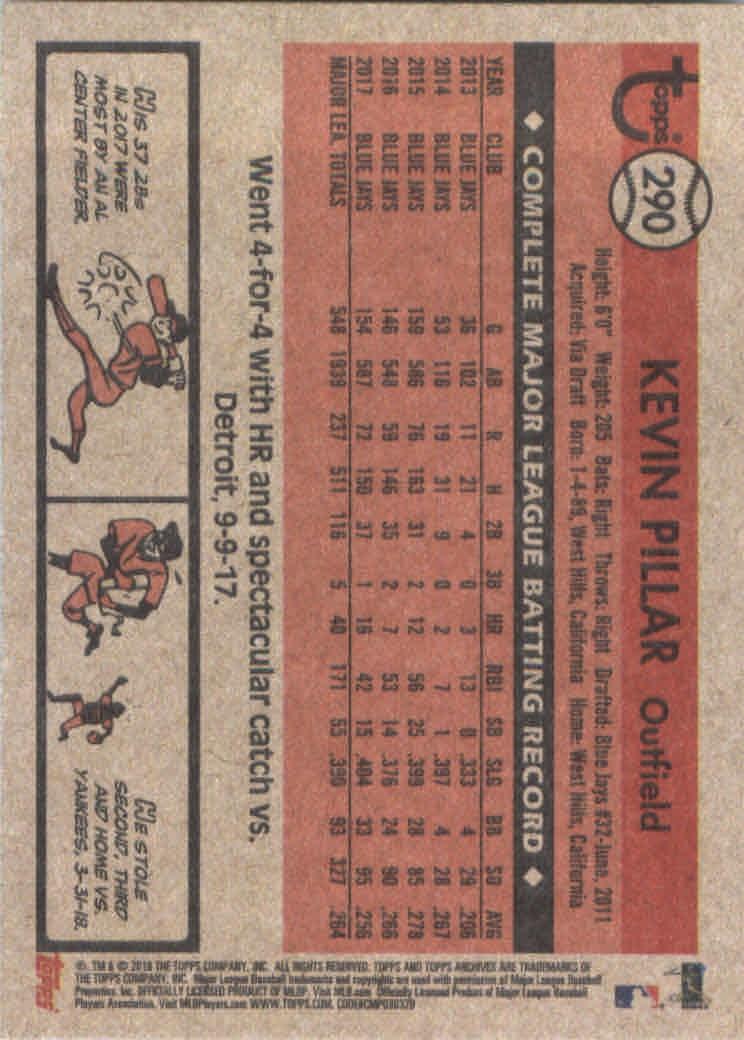 2018-Topps-Archives-Baseball-Carte-Choisissez-251-320 miniature 76