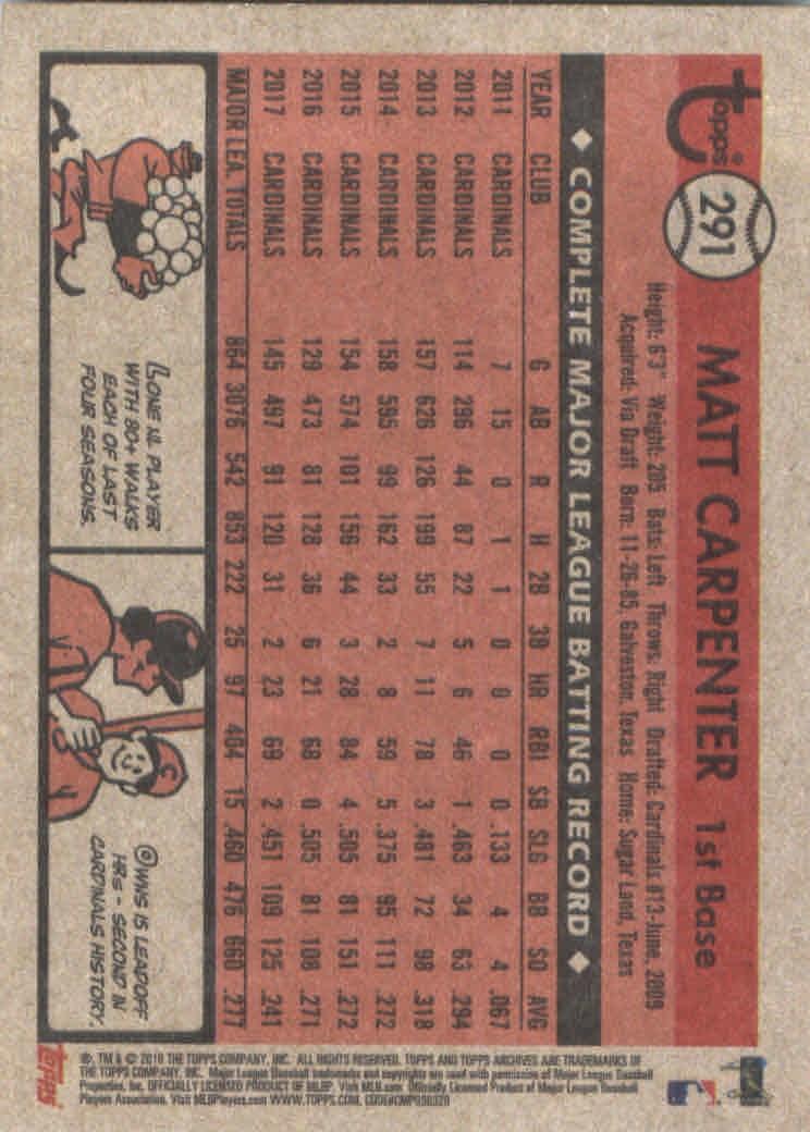 2018-Topps-Archives-Baseball-Carte-Choisissez-251-320 miniature 78
