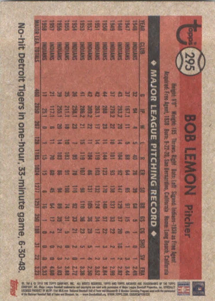 2018-Topps-Archives-Baseball-Carte-Choisissez-251-320 miniature 86