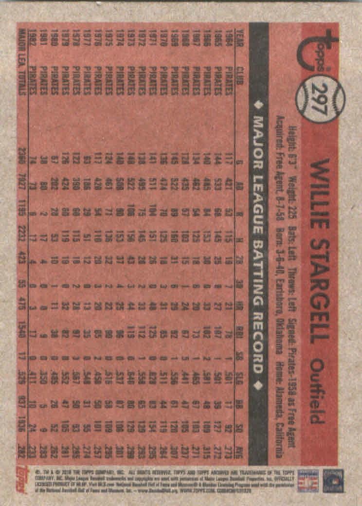 2018-Topps-Archives-Baseball-Carte-Choisissez-251-320 miniature 90