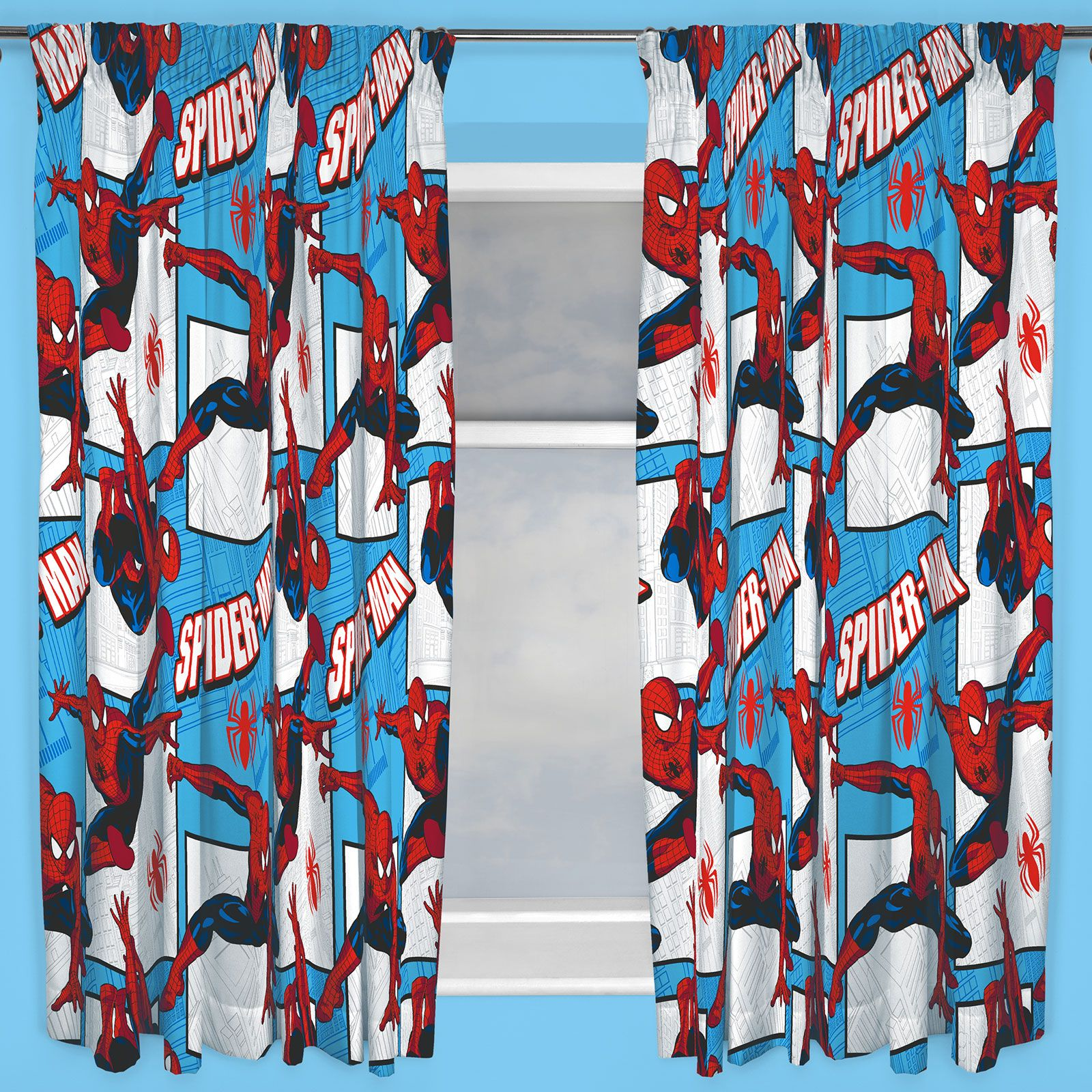 DISNEY Amp CHARACTER BOYS CURTAINS BEDROOM MARVEL PAW