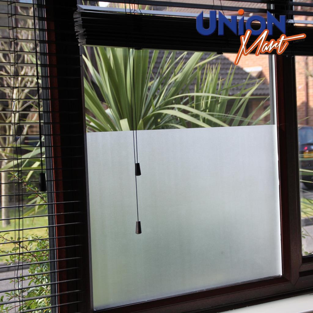 Frosted Window Film Privacy Door Glass Vinyl Tint Self