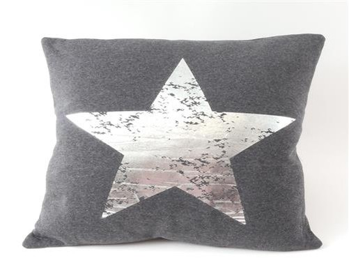 Decorative Pillow Filling : Decorative cushion Stars 45 x 45 cm Pillow with Filling Star print eBay