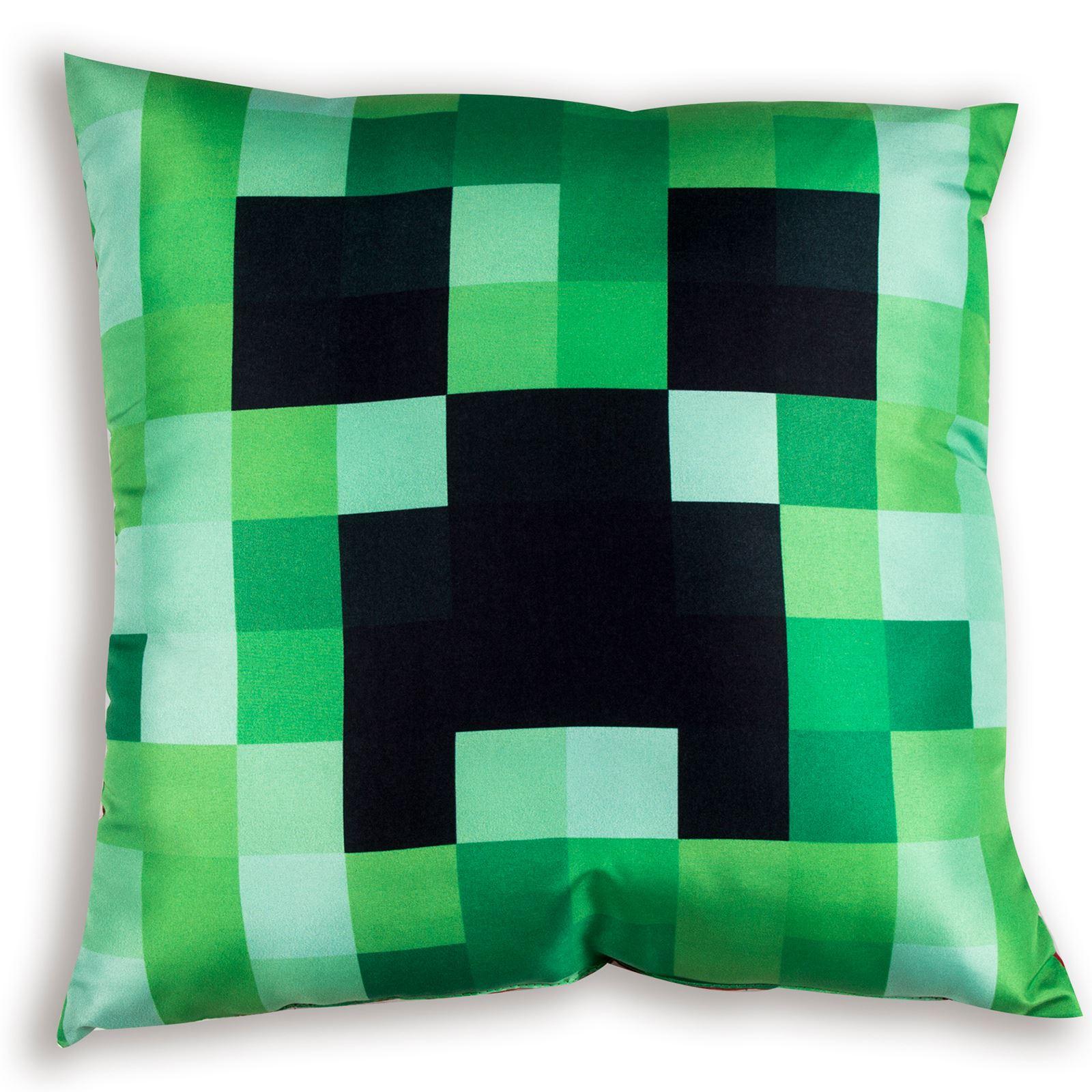 Minecraft-chambre-d-039-enfant-Coussin-Set-Housse-de-couette-reversible-Simple-amp