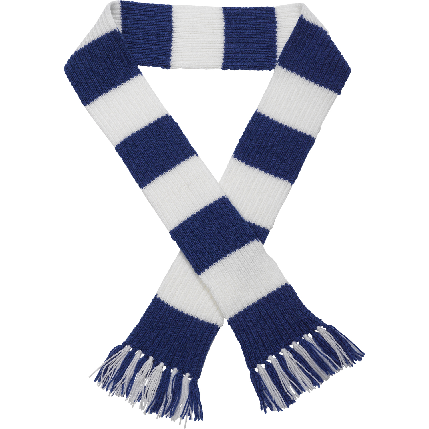 Craft Hobby Knitted Scarf Kit Football & Rugby DK Double Knitting Pattern...