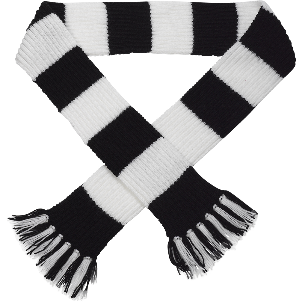 Craft Hobby Knitted Scarf Kit Football & Rugby DK Double ...