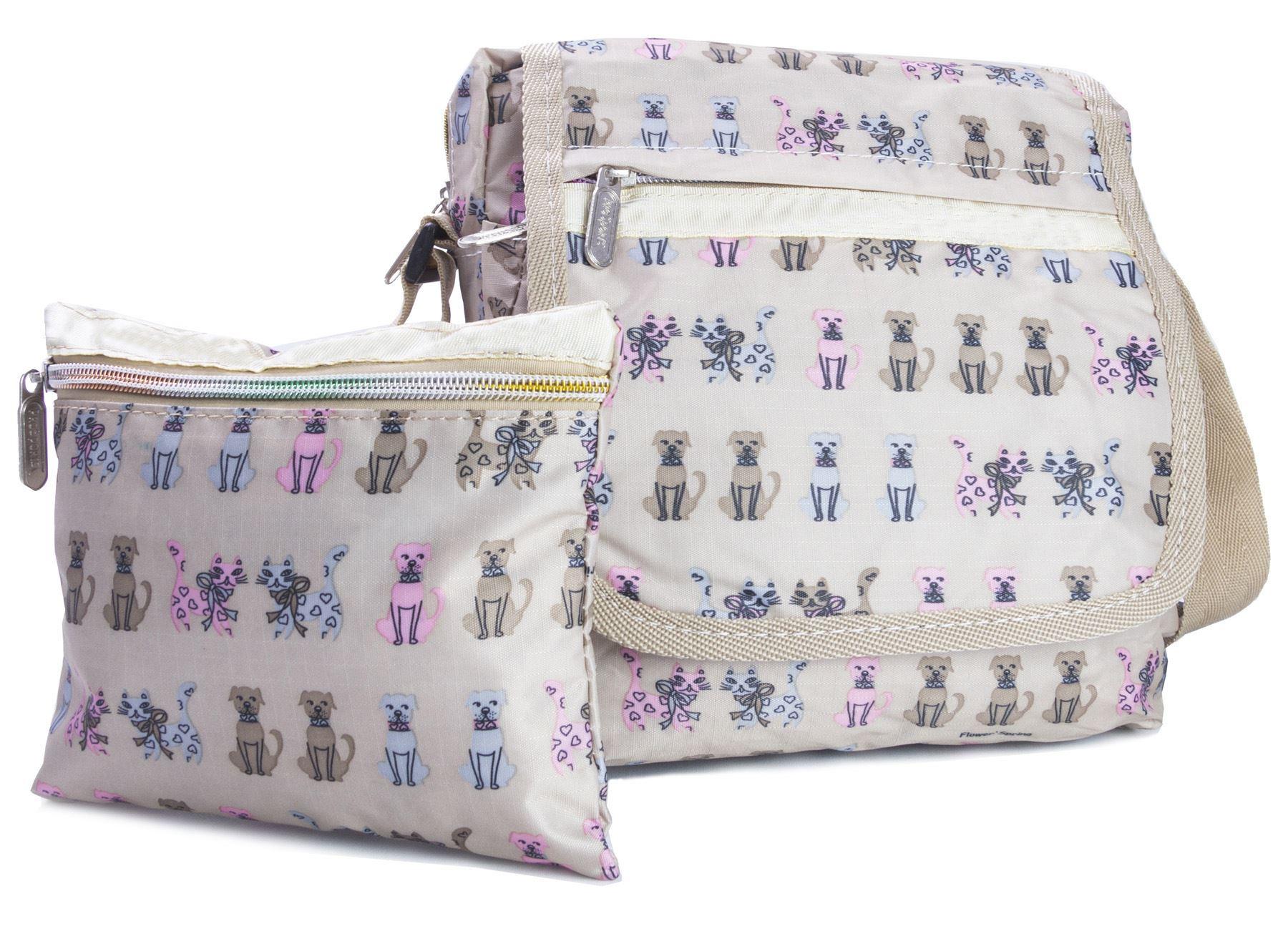Big Handbag Shop UNISEX Taschen mit Reißverschluss Cartoon leicht klein