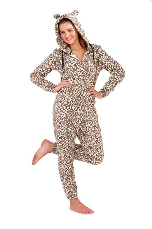 femmes combinaison en polaire animal l opard tigre licorne pyjamas combinaison ebay. Black Bedroom Furniture Sets. Home Design Ideas
