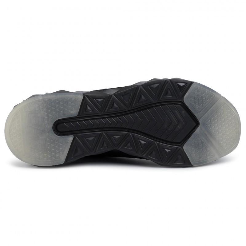 miniature 15 - EA7 Baskets Emporio Armani Homme X8X048 XK113 2020 Chaussures Noir Tissu