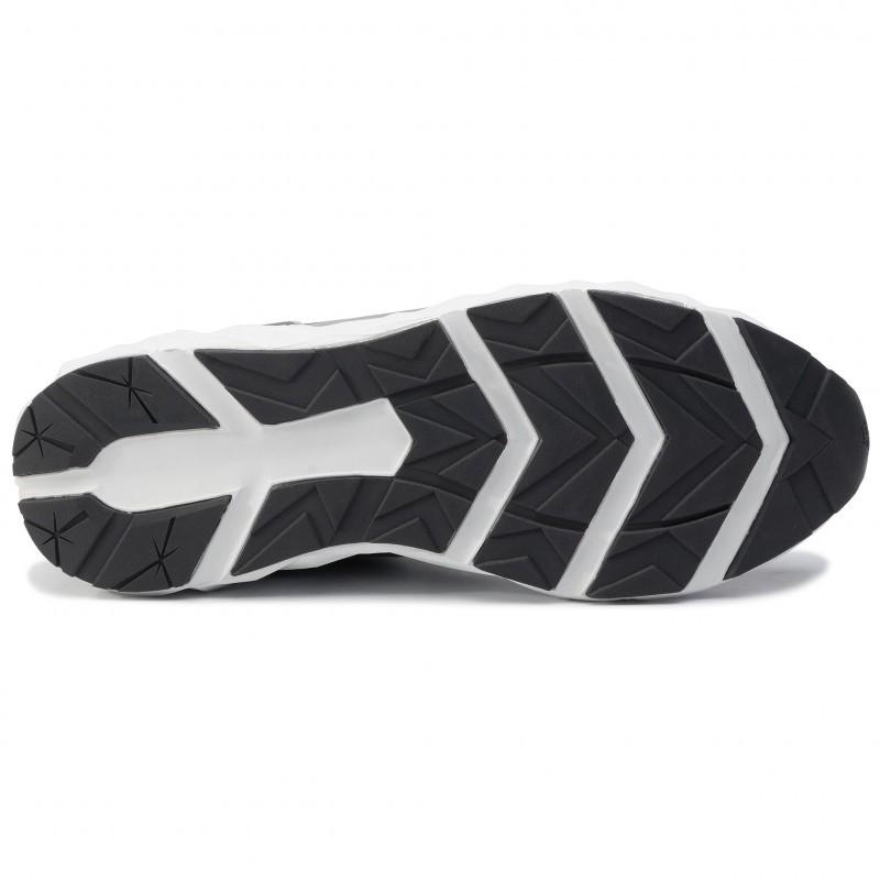 miniature 23 - EA7 Baskets Emporio Armani Homme X8X033 XCC52 2021 Chaussures Noir Blanc Gris