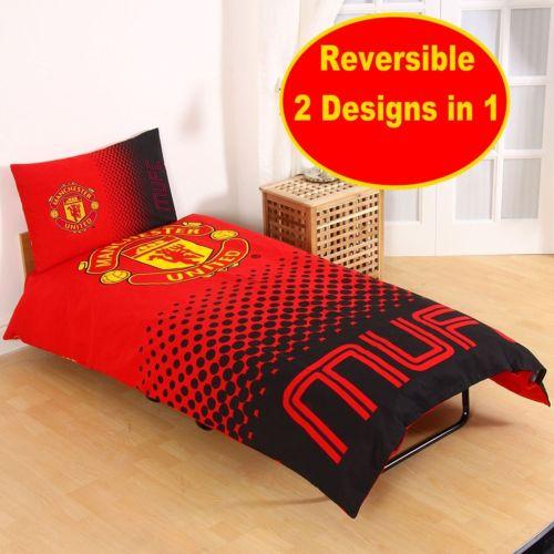 neu fu ballverein einzelbett bettw sche sets jungen kinder schlafzimmer geschenk ebay. Black Bedroom Furniture Sets. Home Design Ideas