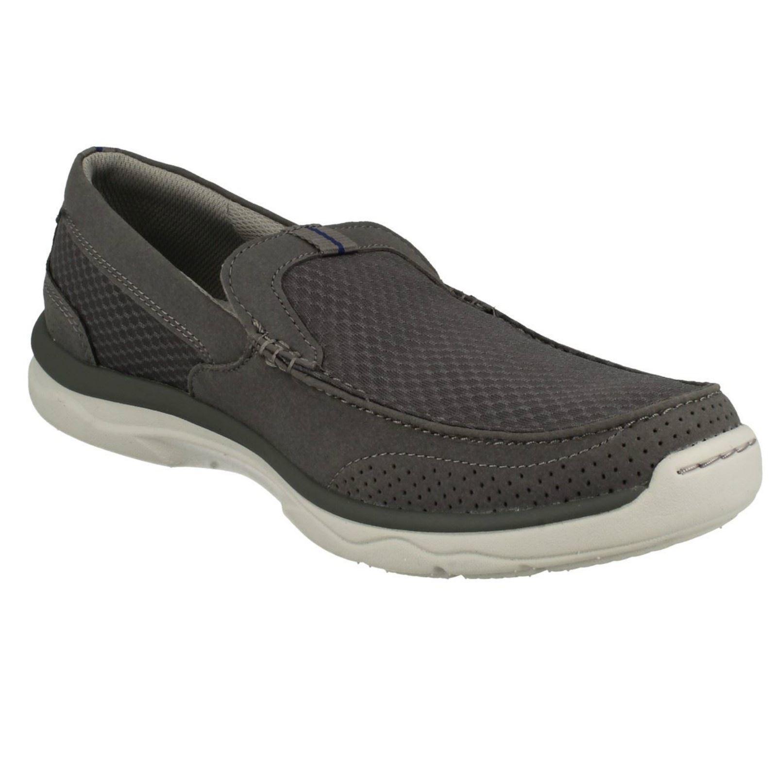 Casuales Zapatos Clarks Hombre Marus Sin Cordones Step wIAzyqz8f
