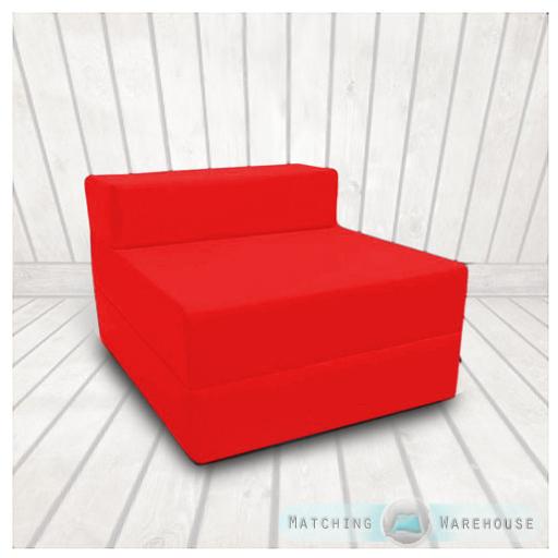 coton serg lit z simple taille repli fauteuil lit chaise mousse pliable ebay. Black Bedroom Furniture Sets. Home Design Ideas
