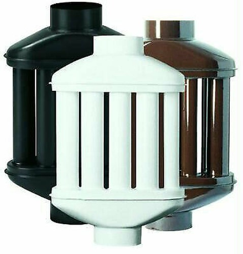 Intercambiador de Calor Radiador Difusor a 8 Cañas Ø 120mm 12cm blancoo para St