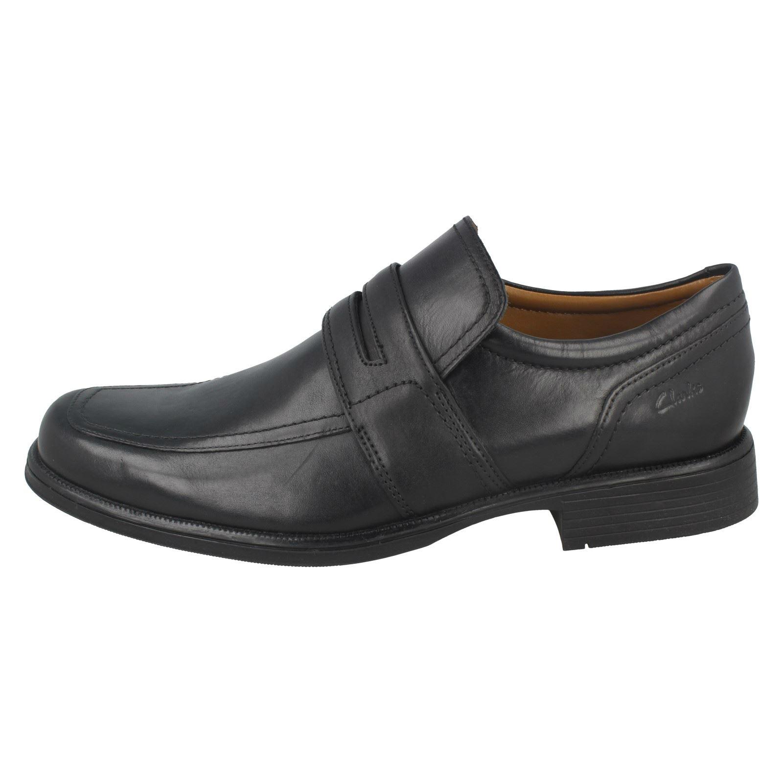 De Zapatos Cordones Sin Clarks Huckley Vestir Trabajo Hombre 4qgxvwOE
