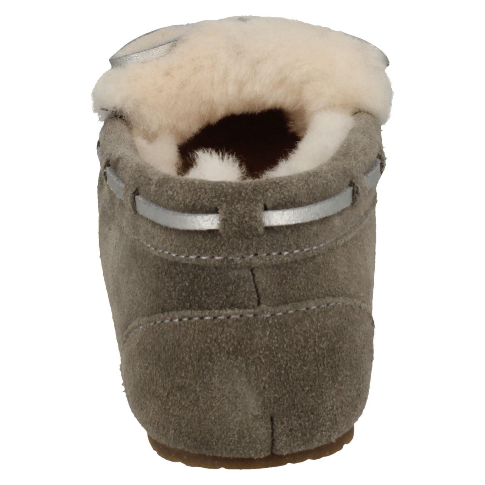 mesdames mesdames mesdames clarks de doublure chaude glamour, chaussons chauds 0d0708