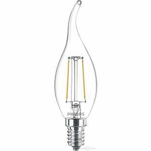 PHILIPS-FILAMENTO-LED-Lampara-de-velas-2wW-Bombilla-Hilo-Cristal-Iluminacion