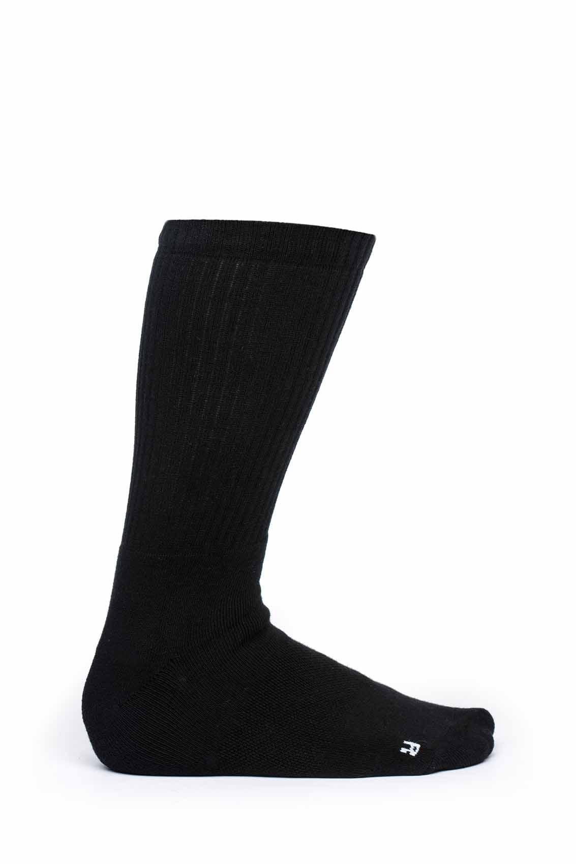 Stinky-Street-Skate-Calcetines-Todo-Negro-Aegis-antibacteriano-algodon-2018