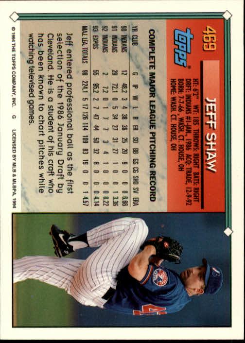 1994-Topps-Beisbol-Tarjeta-Recoger-461-792 miniatura 17
